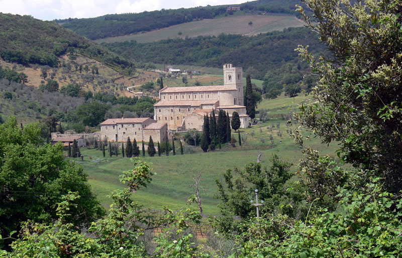 Abbey of St. Antimo, near Montalcino